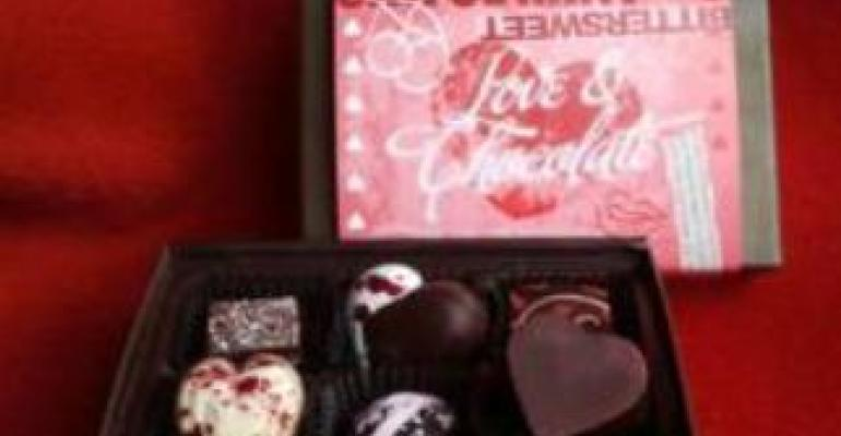 Boxes of chocolate win hearts on Valentine's Day