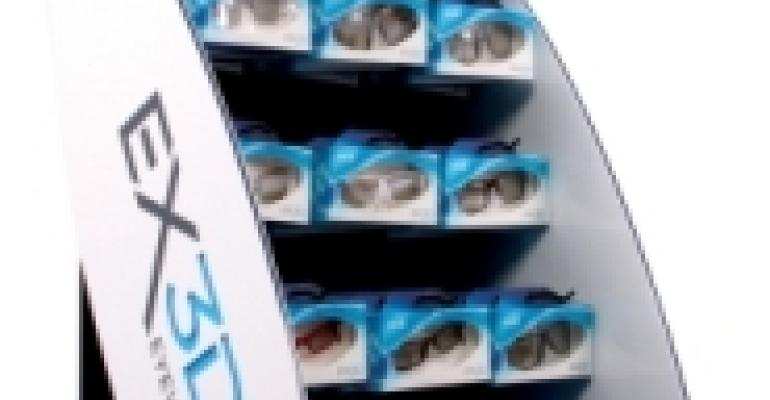 3D glasses packaging lands design award
