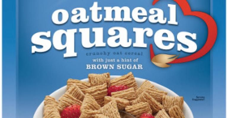 Quaker updates Oatmeal Squares packaging design for launch of Honey Nut flavor