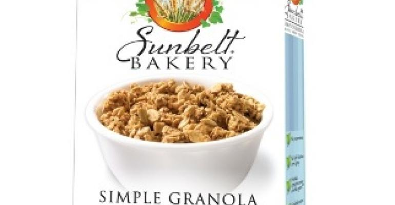 Packaging touts granola's goodness