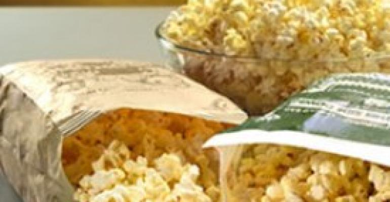 Microwave popcorn papers