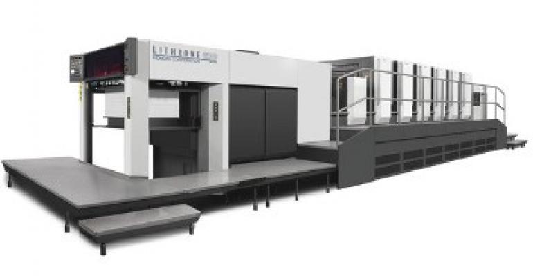 Carton printing press