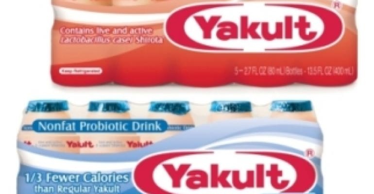 Yakult launches lo-cal probiotic beverage