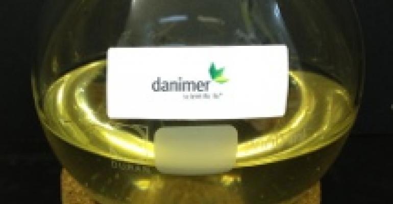 Bio-based label adhesive