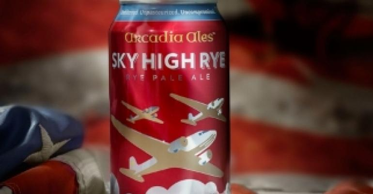 Craft beer takes flight in aluminum cans