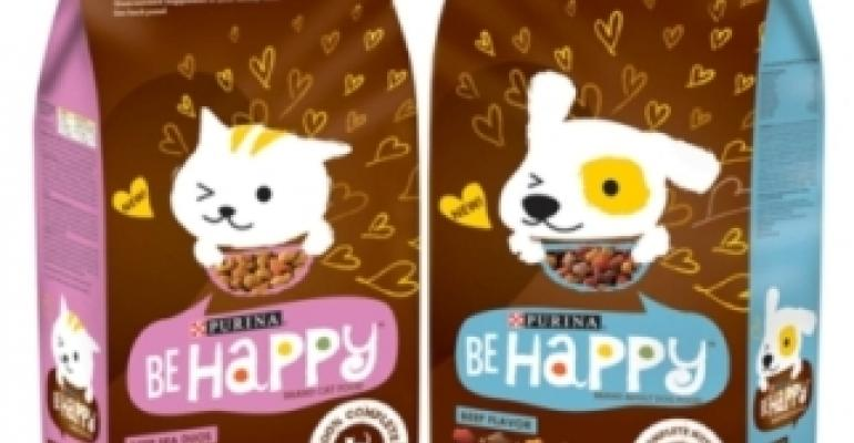 Purina packaging promises peppy pets