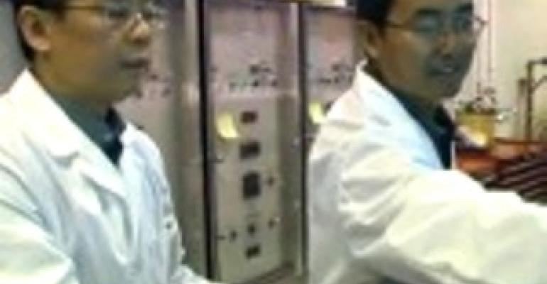 AmeriQual installs microwave food sterilizer