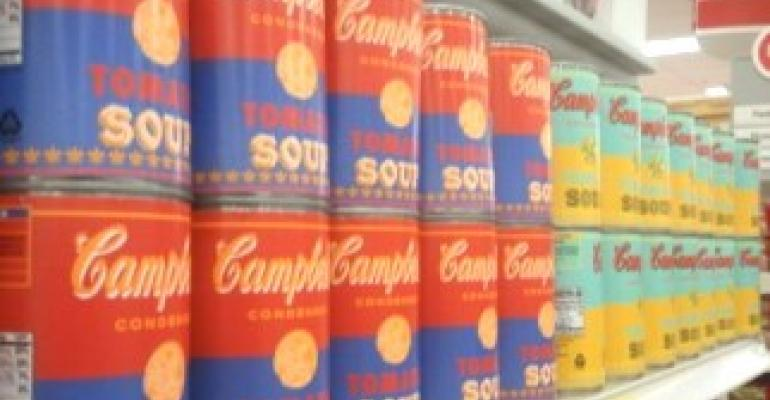 Campbell's soup pops into Warhol-inspired packaging