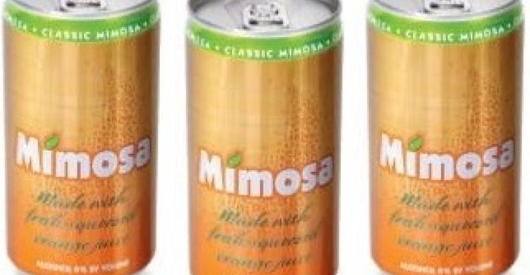 Mimosas launch in slim packaging