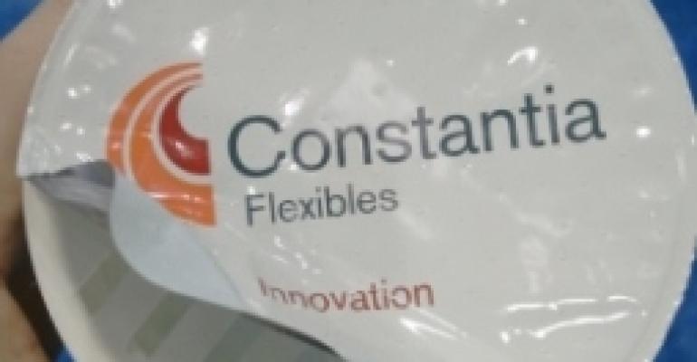 Constantia Flexibles showcases peel-open lid with innovative aperture