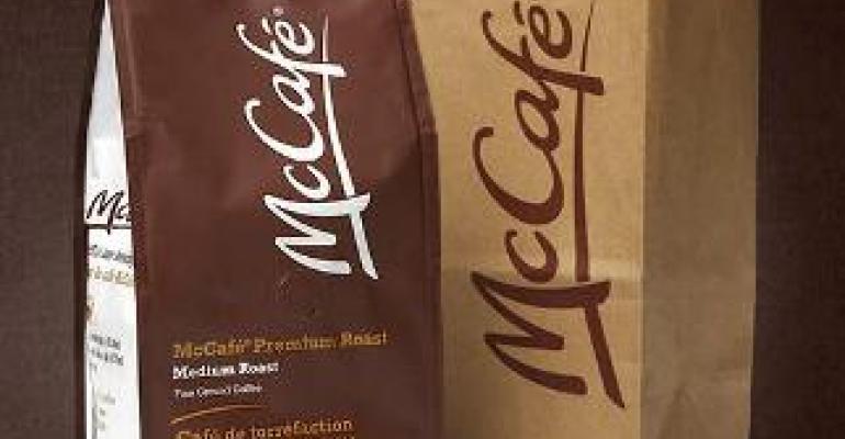 McDonald's brews take-home coffee packaging