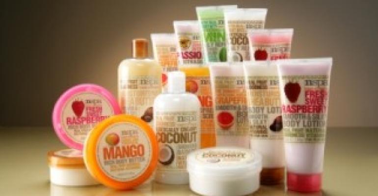 Redesign fruitful for skincare brand