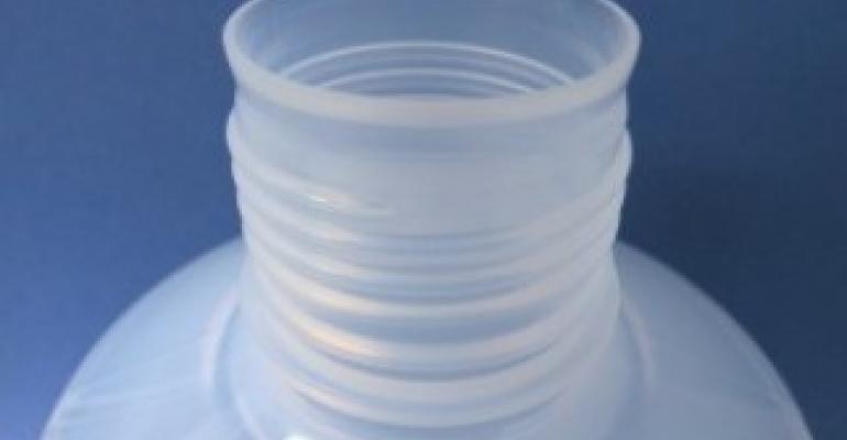 Fluoropolymer bottles