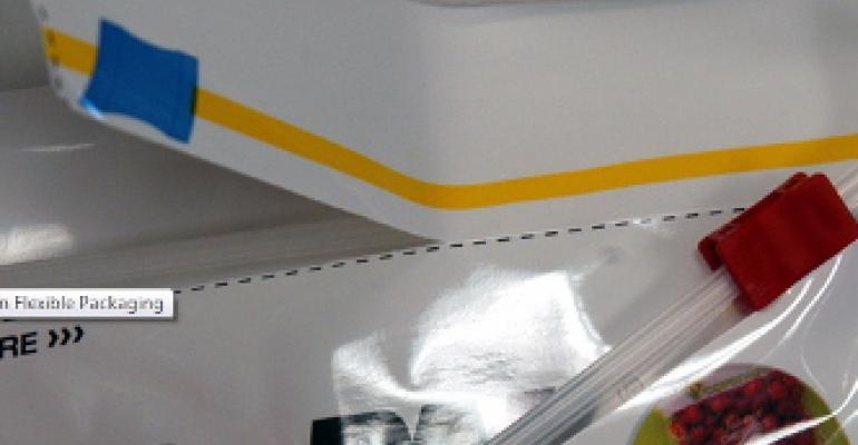 Laser scoring for flexible packaging
