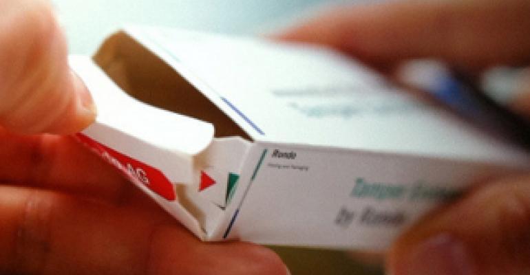 TE folding carton