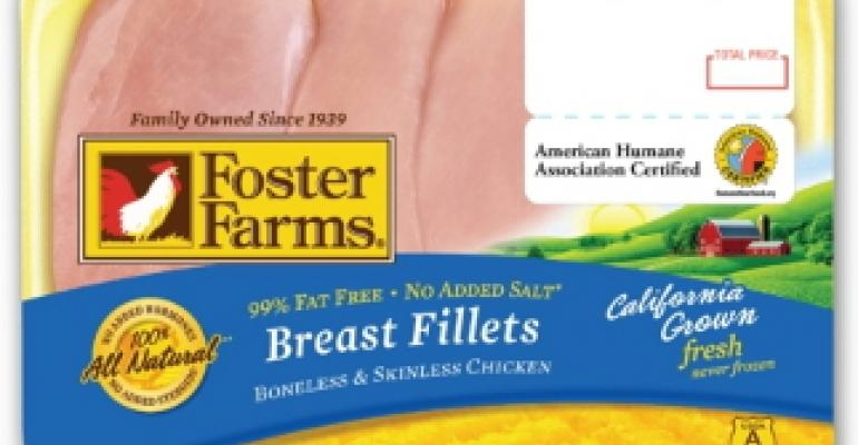 Foster Farms adds humane certification to packaging