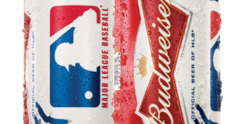 Budweiser celebrates baseball's opening week with team and MLB-branded packaging