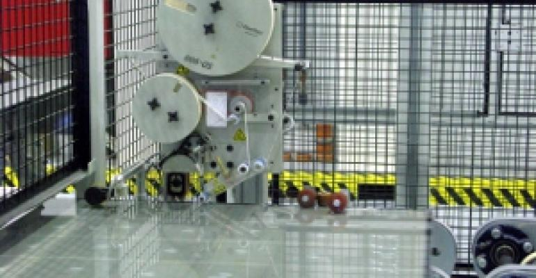 Adhesive secures cables during automated packaging