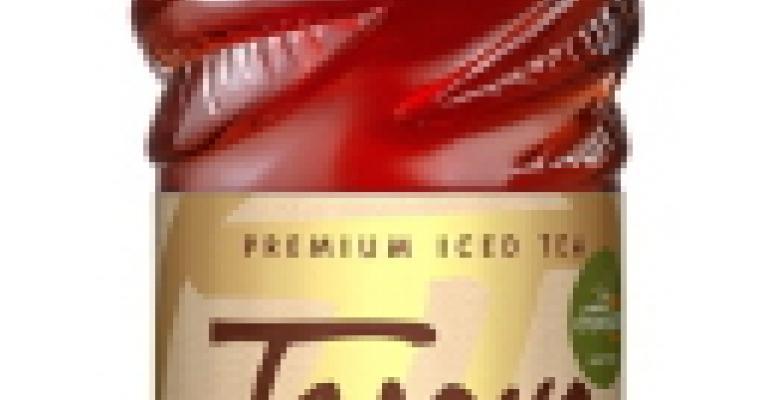 Tejava tea launching in tea-leaf motif PET bottles