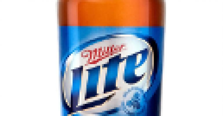 It's Miller Lite's time for a new, contoured grip bottle