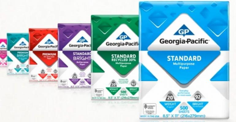 Graphics redesign simplifies copy paper shopping
