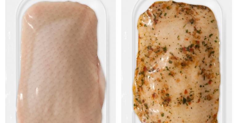 Maple Leaf Farms introduces innovative vacuum skin packaging