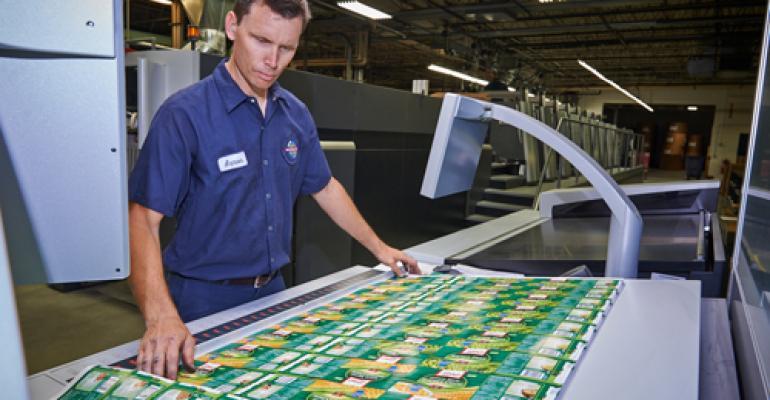 Packaging printer sets world record
