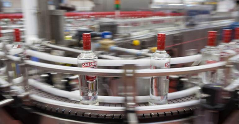 Diageo invests $120M in bottling facility