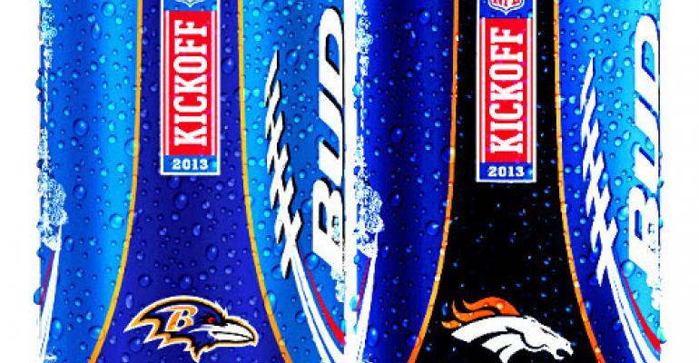 Bud Light kicks off NFL team-logo packaging