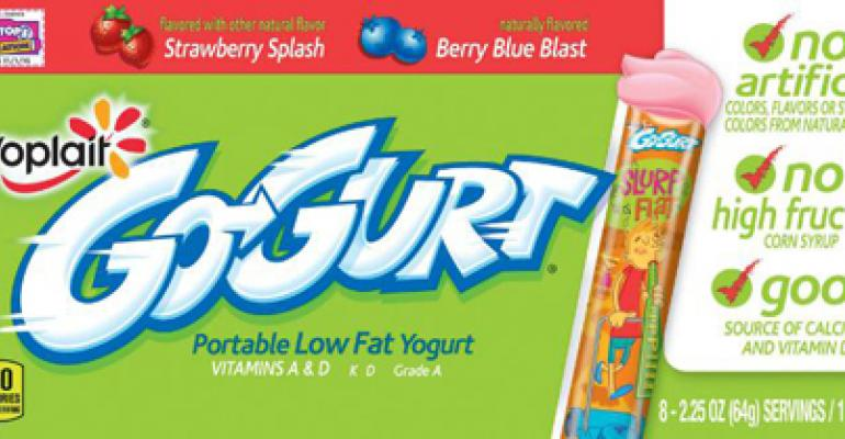 Vibrant new packaging from Yoplait