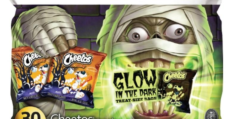 New Cheetos glow-in-the-dark packaging helps fans celebrate Halloween