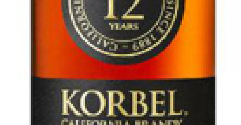 Korbel releases its first brandy in more than a decade
