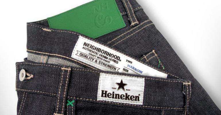 """Heineken celebrates """"Man of the World"""" with denim collaboration"""