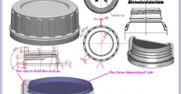Promising Packaging Patents: A leak-proof closure with a 3D seal