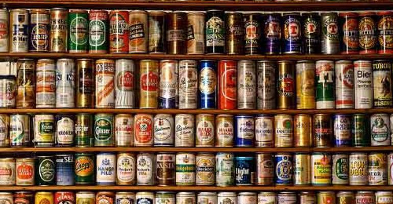The beer can celebrates major milestone