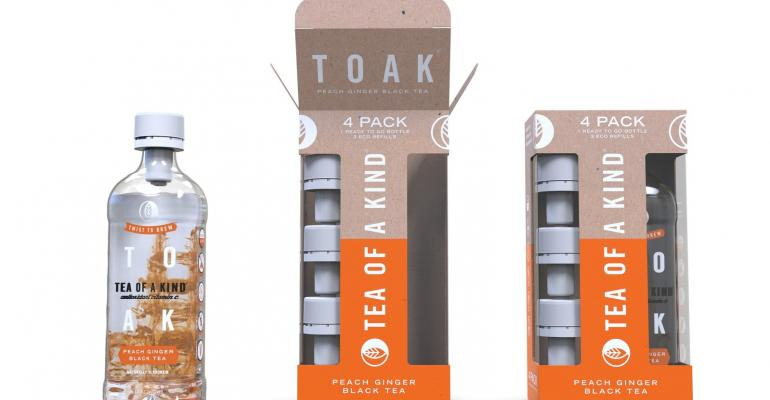 Novel tea steeped in packaging innovation