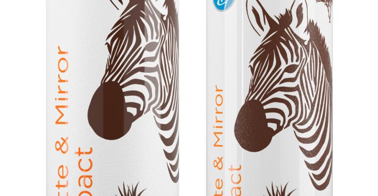 Matte finish now available on aluminum cans
