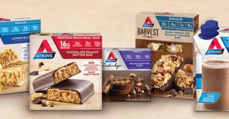 Atkins' new packaging highlights lifestyle instead of weight loss