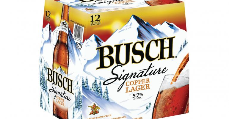 Busch launches new beer after 15-year hiatus