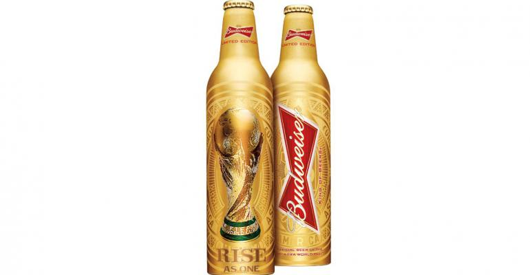 Budweiser unveils limited-edition trophy bottle