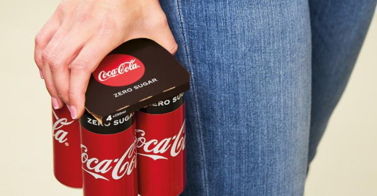 Multipack 'topper' boosts Coca-Cola's packaging sustainability