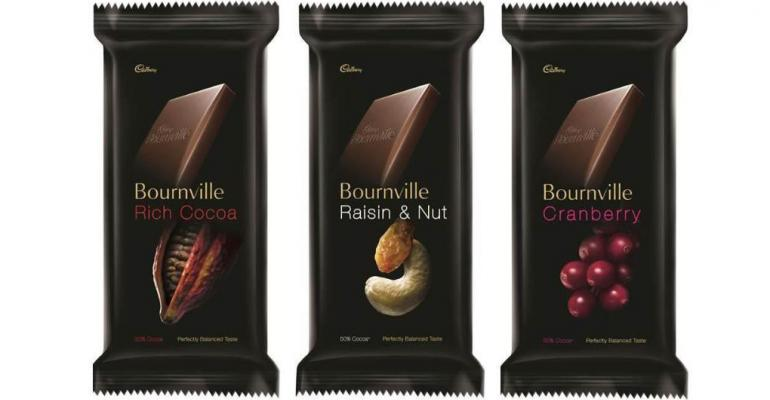 Cadbury's packaging reflects richness of chocolate