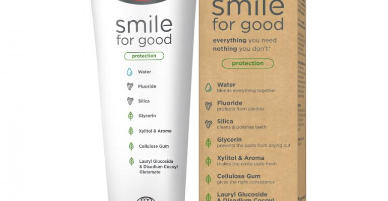 Colgate launches Smile for Good toothpaste in recyclable tube