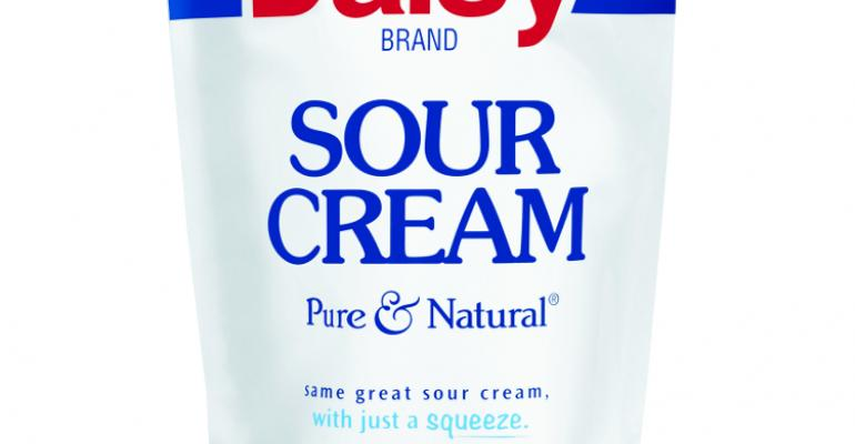 Daisy adds flexible packaging to its sour cream line-up