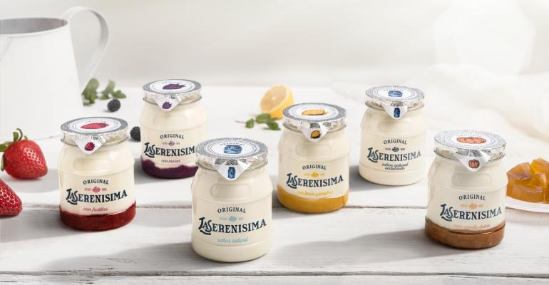 Danone's new yogurt jar conveys 'natural' and premium