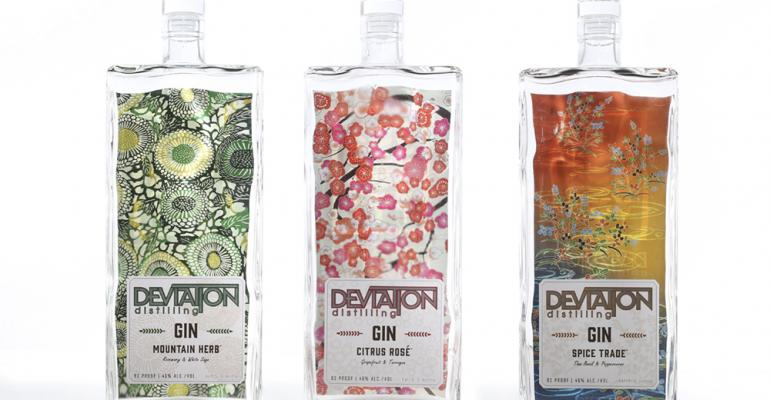 Single-pass digital printing delivers double-duty labels for distiller