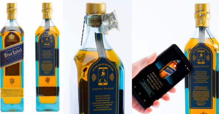 Johnnie Walker 'smart bottle' performs for consumers and supply chain