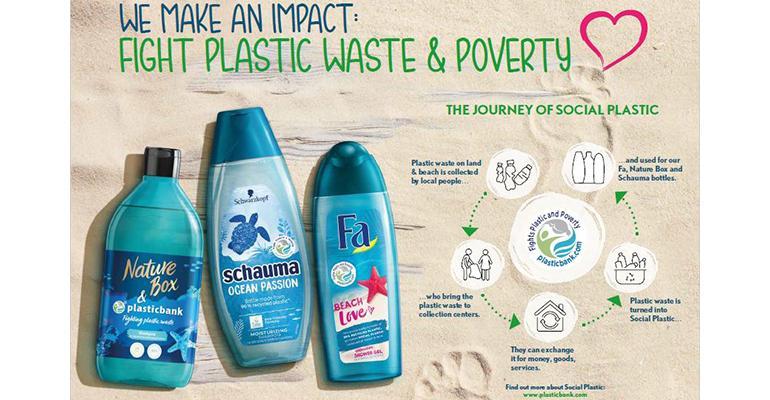 Dow Diamond Henkel Social Plastic graphic