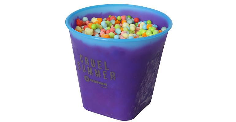 Dippin' Dots Cruel Summer cup
