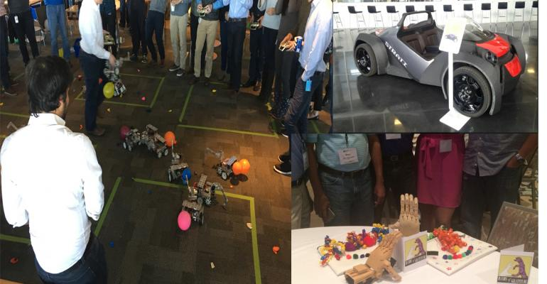 EastPack venue packed with technology, robots and surprises